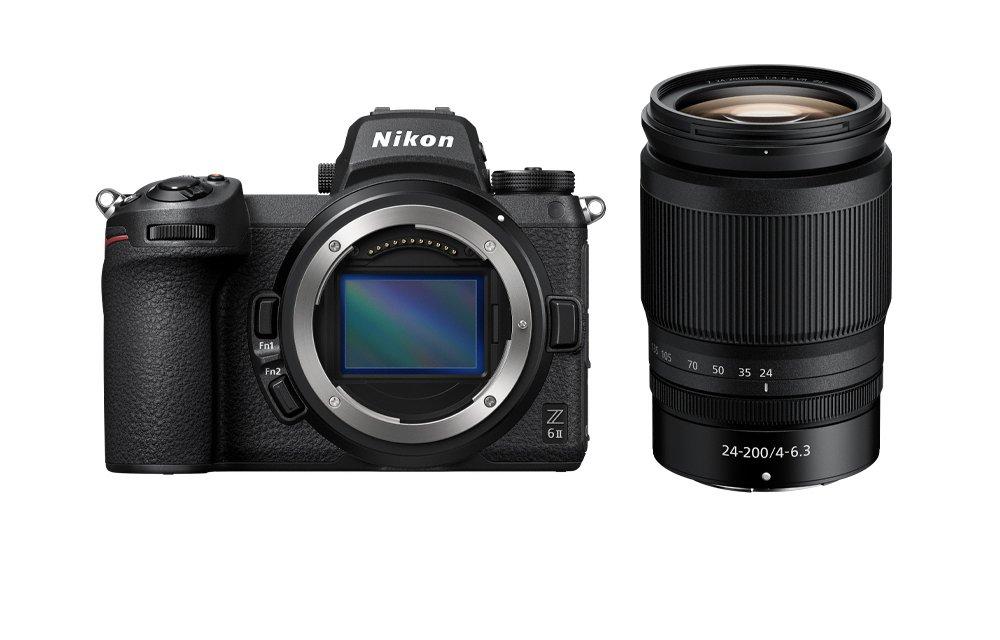 Câmera Nikon Z 6II + Objetiva NIKKOR Z 24-200mm f/4-6.3