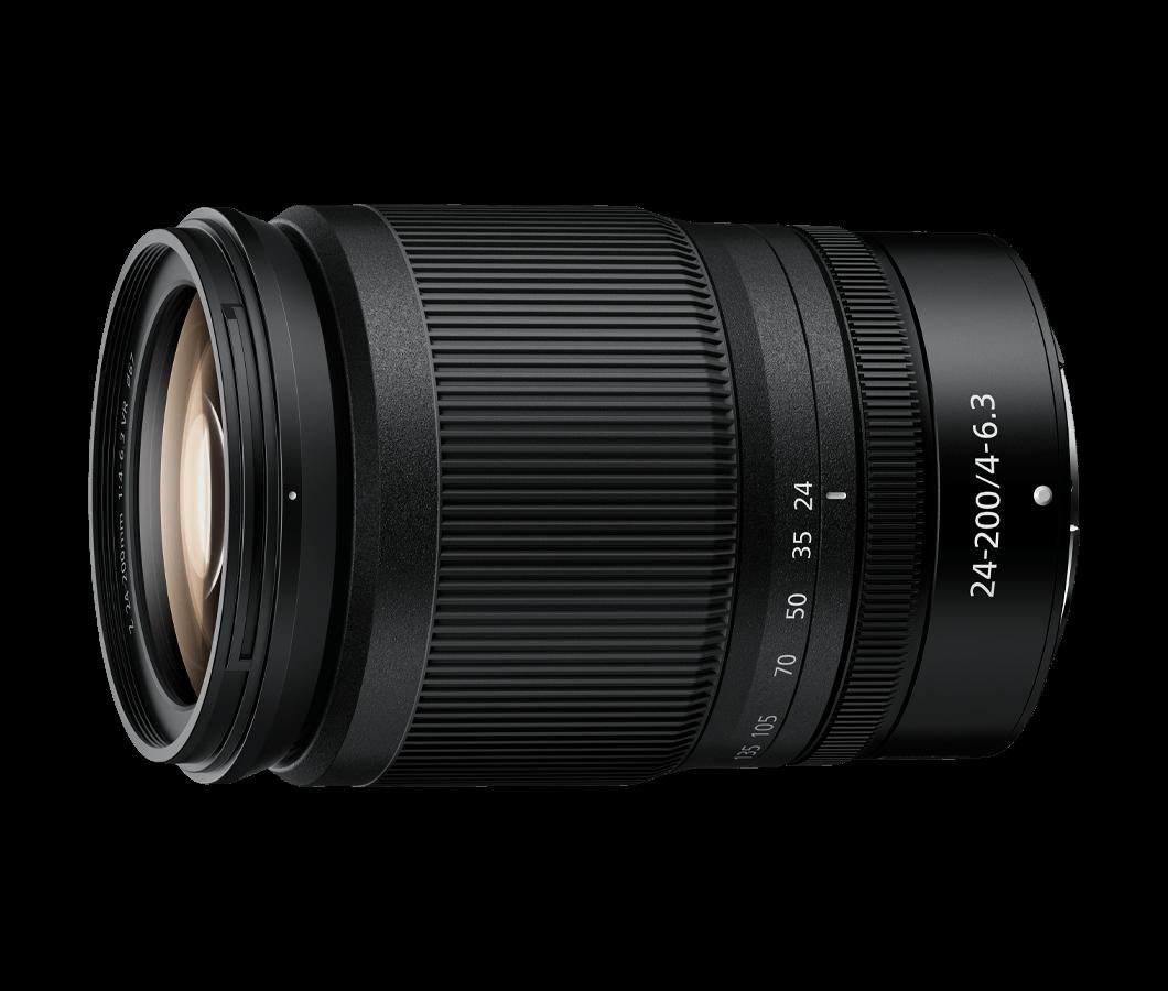 Objetiva NIKKOR Z 24-200mm f/4-6.3 FX VR