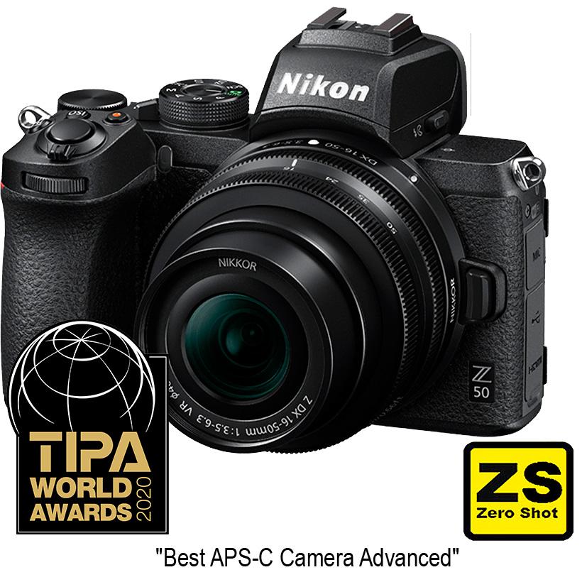 Câmera Nikon Z 50 + Objetiva NIKKOR Z DX 16-50mm f3.5-6.3 VR. (Zero Shot)
