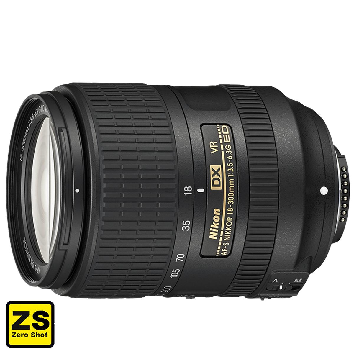 Objetiva AF-S DX NIKKOR 18-300mm f/3.5-6.3 G ED VR (Zero Shots)