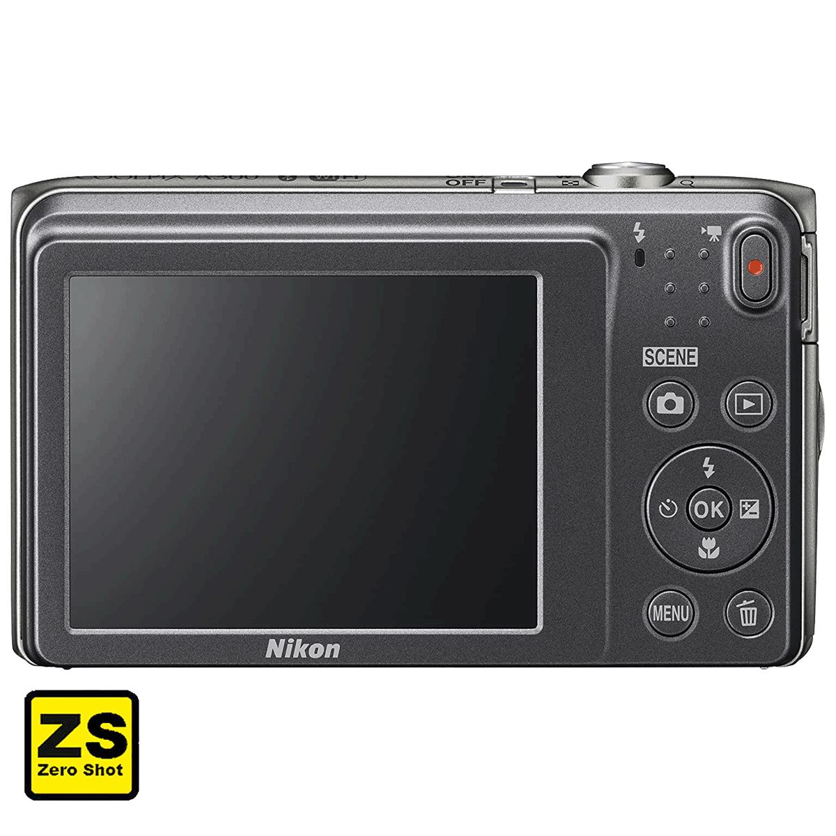 Câmera Nikon COOLPIX A300 Silver (Zero Shots)
