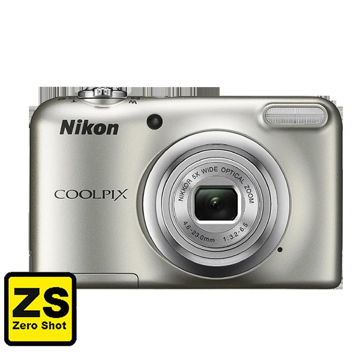 Câmera Nikon COOLPIX A10 Silver (Zero Shot)