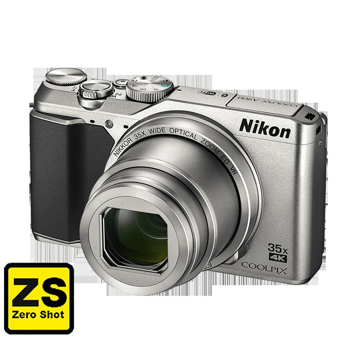 Câmera Nikon COOLPIX A900 Silver (Outlet)