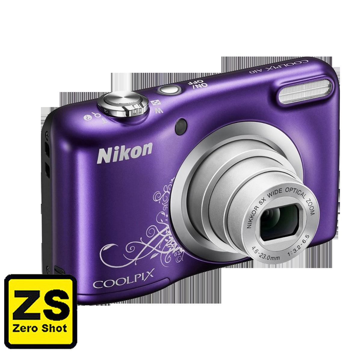 Câmera Nikon COOLPIX A10 Purple (Zero Shot)