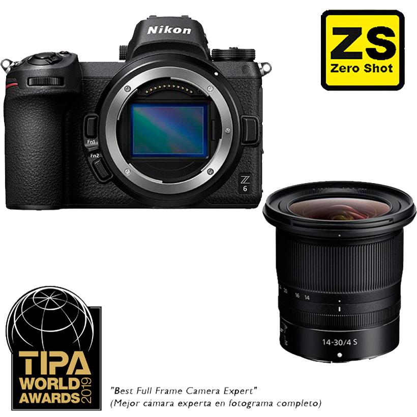 Câmera Nikon Z 6 + Objetiva NIKKOR Z 14-30mm f/4 (Zero Shot)