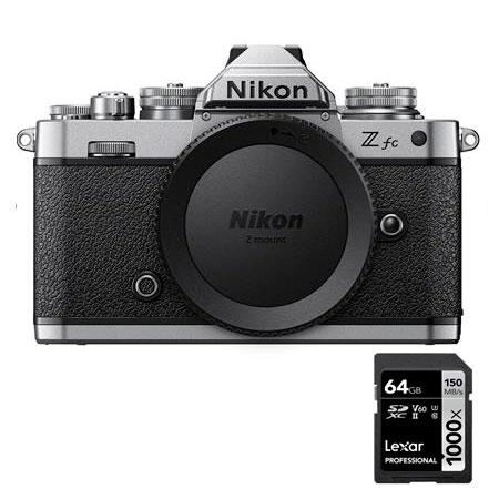Câmera Nikon Z fc (corpo) + SD 64GB 1000X