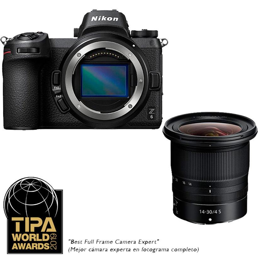 Câmera Nikon Z 6 + Objetiva NIKKOR Z 14-30mm f/4